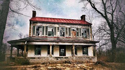Photograph - This Old House by Al Harden