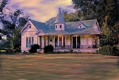 Digital Art - This Old House by Bonnie Willis