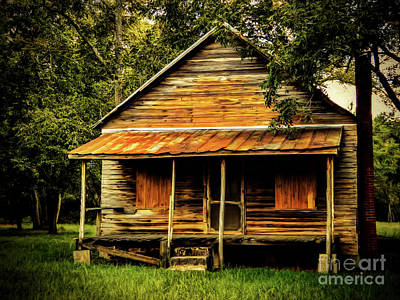 Photograph - This Old House by Dave Bosse