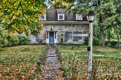 Photograph - This Old House by Deborah Benoit