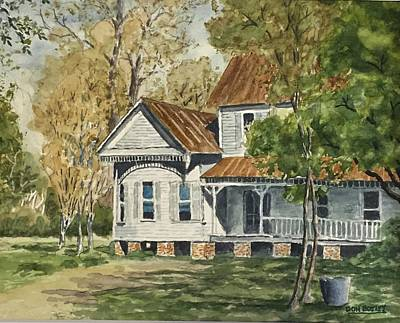 Painting - This Old House by Don Bosley