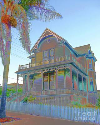 Photograph - This Old House Fantasy by Barbie Corbett-Newmin