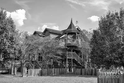 Photograph - This Old House In Black And White by Kathy Baccari