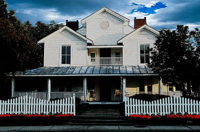 Photograph - This Old House by James C Thomas