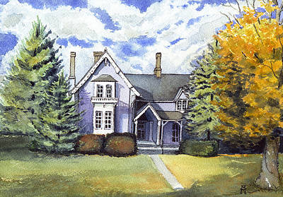 Painting - This Old House by Katherine Miller