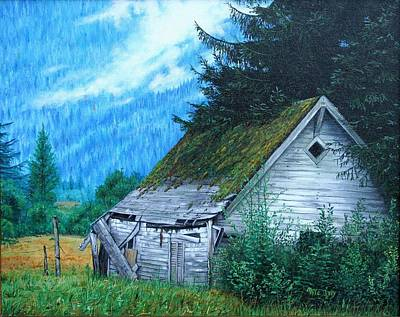 Painting - This Old House by Mike Ivey