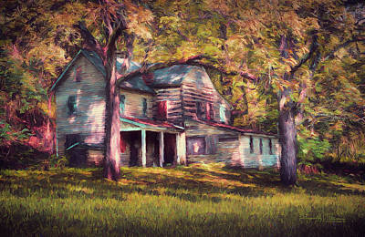 Photograph - This Old House by Reynaldo Williams