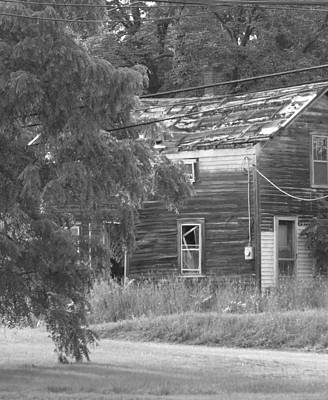 Photograph - This Old House by Rhonda Barrett
