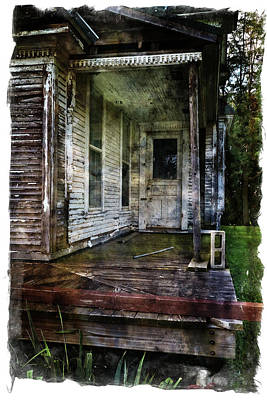 Photograph - This Old House by Scott Kingery