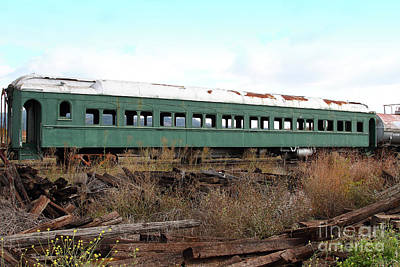Photograph - This Old Napa Train Has Seen Better Days 7d8994 by San Francisco