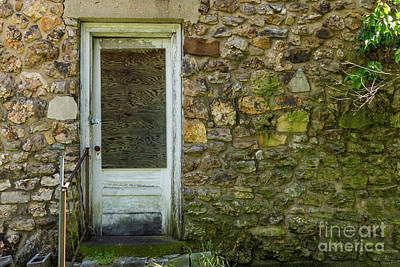 Photograph - This Old Rock Wall by Jennifer White