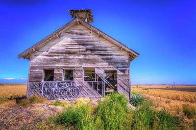 Photograph - This Old School House by Spencer McDonald