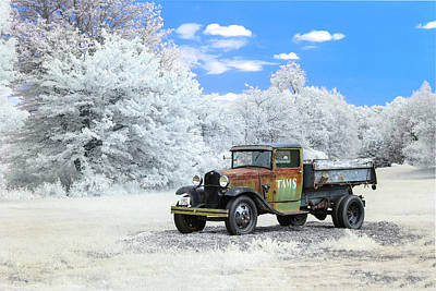 Photograph - This Old Truck by Brian Hale
