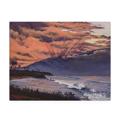 Photograph - This Painting Of Ho'okipa Is My by Darice Machel McGuire
