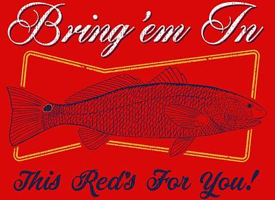 Digital Art - This Reds For You by Kevin Putman