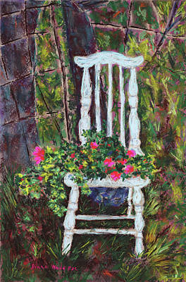 Painting - This Seat's Taken by Diana Wade