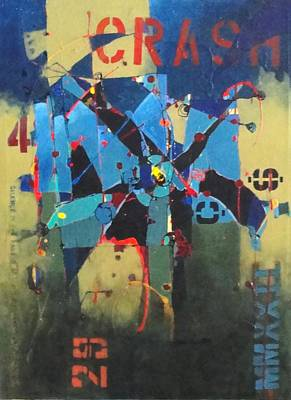 Mixed Media - Tragedy by Bernard Goodman