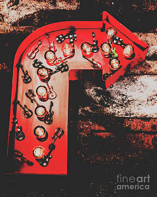 Rock And Roll Photograph - This Way To Rock City by Jorgo Photography - Wall Art Gallery