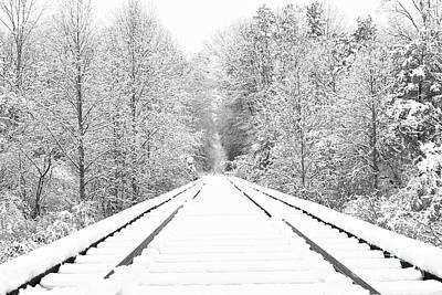 Photograph - This Way To Winter by Benanne Stiens