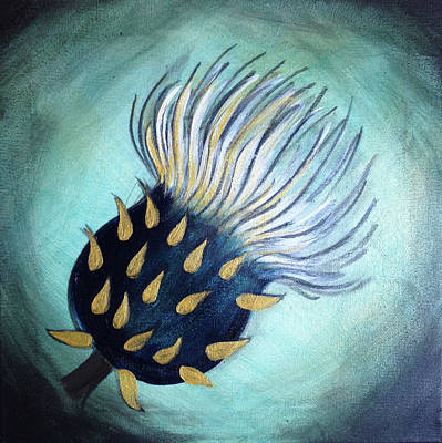 Painting - Thistle Dreams by Anna Elkins