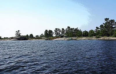 Photograph - Thistle Island Georgian Bay by Debbie Oppermann