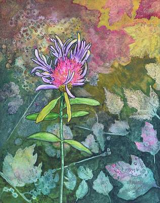 Painting - Thistle by Nancy Jolley