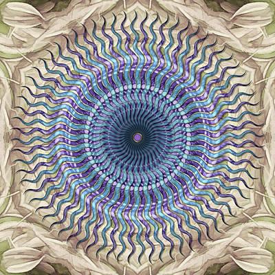 Digital Art - Thistle-point Starflower by Becky Titus