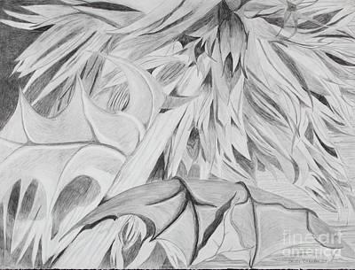 Thistle Art Print by Stella Sherman