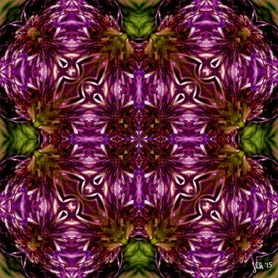 Digital Art - Thistles Through The Looking Glass by Lori Kingston