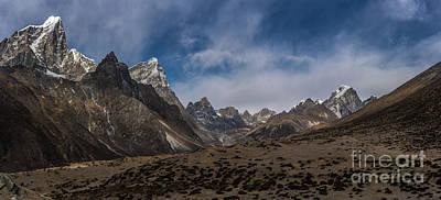 Photograph - Thokla Pass Nepal by Mike Reid