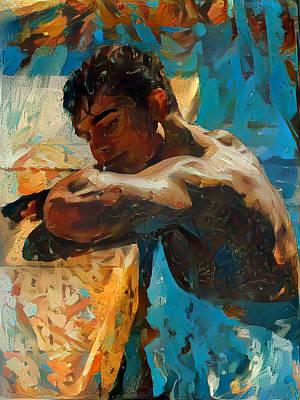Digital Art - Thom by Richard Laeton