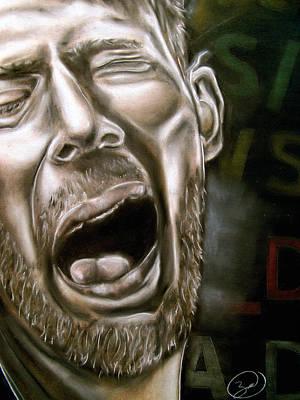Thom Yorke Art Print by Zach Zwagil