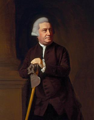 Singleton Painting - Thomas Amory II by John Singleton Copley