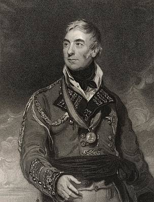 Aristocrat Drawing - Thomas Graham 1st Baron Lynedoch 1748 by Vintage Design Pics
