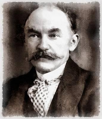 Thomas Hardy, Author Art Print