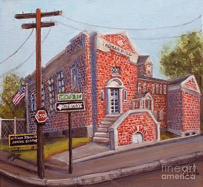Painting - Thomas Hill School by Rita Brown