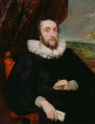 Painting - Thomas Howard, Second Earl Of Arundel by Anthony van Dyck