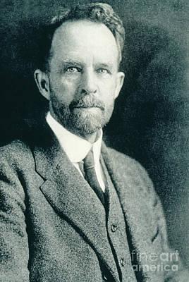 Thomas Hunt Morgan, American Geneticist Art Print by Photo Researchers, Inc.