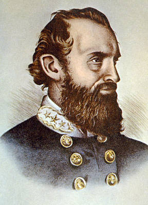 Thomas J. Stonewall Jackson 1824-1863 Art Print by Everett