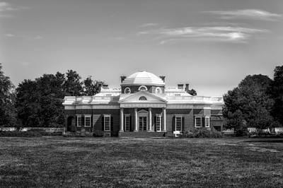 Photograph - Thomas Jefferson Home - Monticello - 10 by Frank J Benz