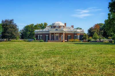 Photograph - Thomas Jefferson Home - Monticello - 5 by Frank J Benz