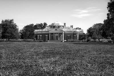 Photograph - Thomas Jefferson Home - Monticello - 6 by Frank J Benz