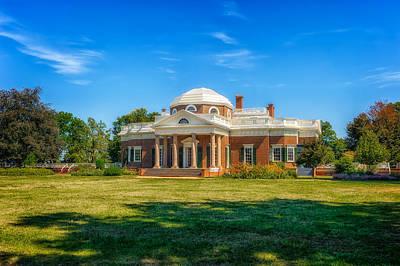 Photograph - Thomas Jefferson Home - Monticello - 7 by Frank J Benz