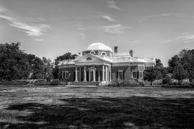 Photograph - Thomas Jefferson Home - Monticello - 8 by Frank J Benz