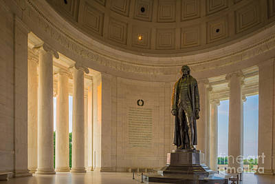Politicians Royalty-Free and Rights-Managed Images - Thomas Jefferson by Inge Johnsson
