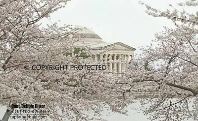 Photograph - Thomas Jefferson Memorial 9576 by Captain Debbie Ritter