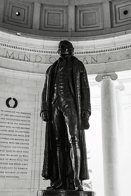 Photograph - Thomas Jefferson Memorial by Brandon Bourdages