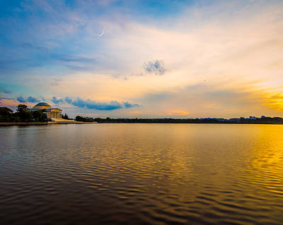 Photograph - Thomas Jefferson Memorial Sunset by Chris Bordeleau