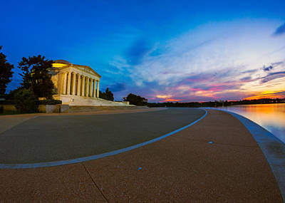 Photograph - Thomas Jefferson Memorial Twilight by Chris Bordeleau