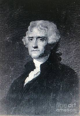Photograph - Thomas Jefferson by Richard W Linford